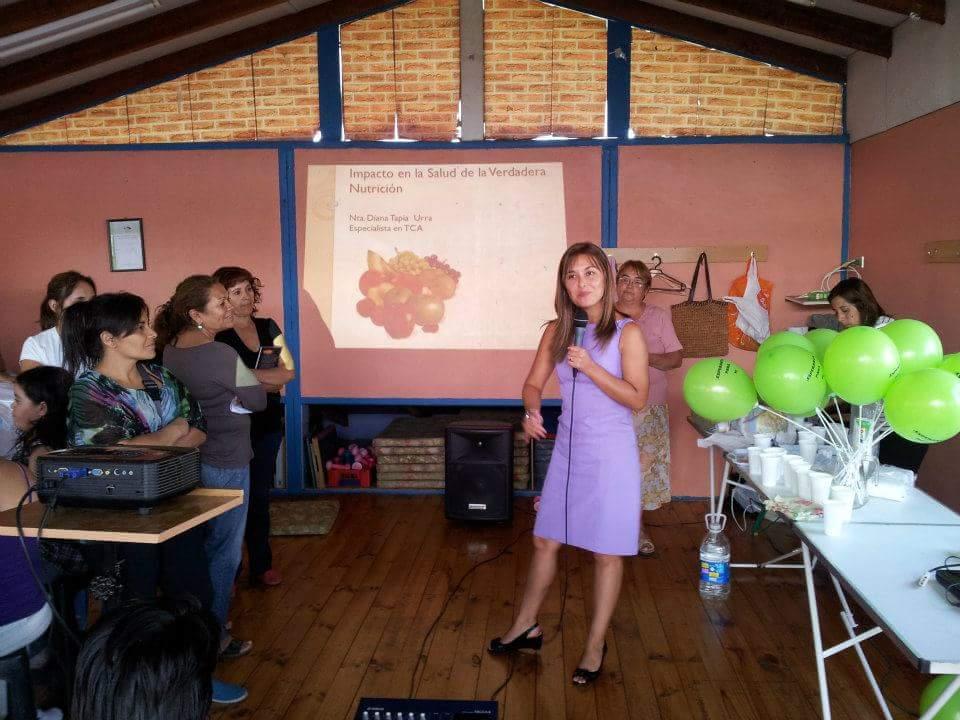 Nutricionista Diana Tapia